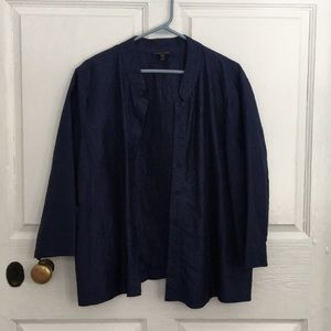 Eileen Fisher, XL, silk blouse